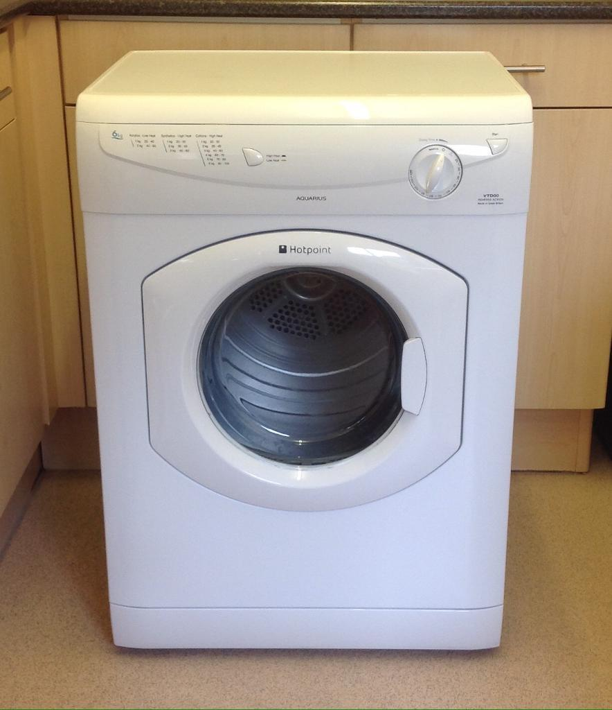 Hotpoint Vented Dryerin Kidderminster, WorcestershireGumtree - Hotpoint Vented Dryer 6kg load reverse action various drying programs comes with hose only used a couple of times as new condition excellent working order