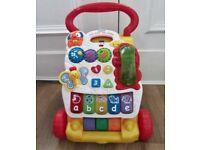 Vtech Sit-to-Stand First Steps Baby Learning Walker & Activity Centre.