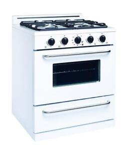 """30"""" Unique Propane range / oven / stove - OPEN BOX $150 OFF!"""