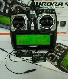 Aurora 9 Transmitter.