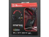 TTesports (Thermaltake) CRONOS RGB 3D 7.1 Surround Sound PC Gaming Headset