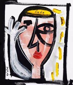 pop art alessandro siviglia painting oil on canvas street art