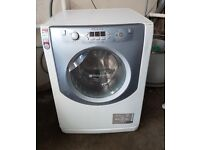 FREE DELIVERY Hotpoint Aqualtis large 8KG washer dryer WARRANTY