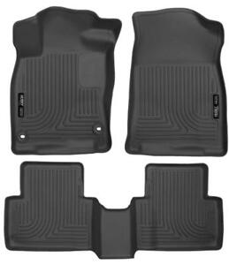 Husky Liner Weatherbeater Floor Liners| 2016-2018 Honda Civic Sedan & Hatchback | Free Shipping | motorwise.ca