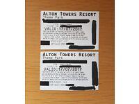 Alton Tower tickets