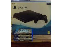 PS4 1TB Console with Games