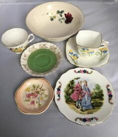 Antique, vintage china, porcelain. Lustre ware