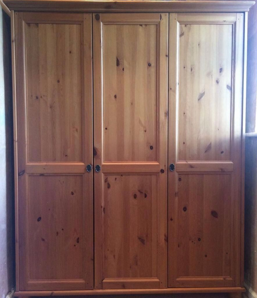Ikea Leksvik Wardrobe In Warrington Cheshire Gumtree
