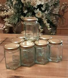 70 Unused Glass Jars/Containers