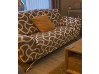2x3 seater sofas