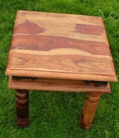 Solid Indian Rosewood Occasional Table