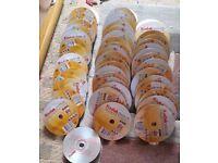 KODAK DVD+R 16X 4.7GB 500 DVD DISC BLANK DVD DISC dvdr dvd-r 100 50 200 200 400 10 25 20 sony tdk