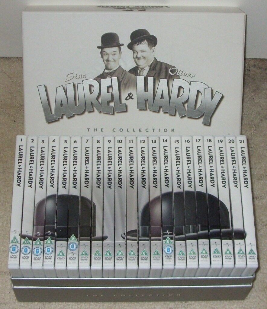 Laurel And Hardy - The Collection (21 Disc DVD Box Set) - all discs in great condition