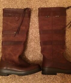 Ladies Dubarry Boots. Never worn outside.