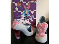 Irregular choice shoes fairies in a jar