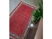 CYRUS - Antique Traditional Vintage Persian Wool 157 x 106cm Handmade Carpet Rugs