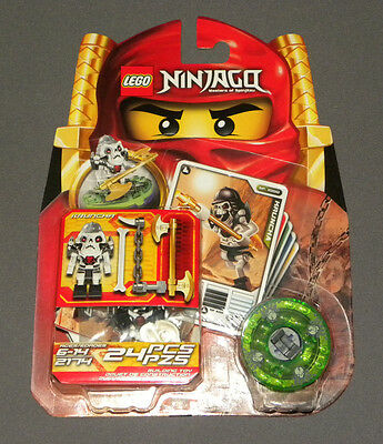 Lego Mini Building Set 2174 Ninjago Kruncha Spinjitzu Minifigure + Cards Sealed