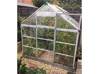 Greenhouse (Plastic polycarbonate windows with Aluminium Frame)