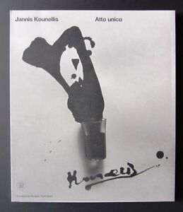 Atto unico jannis kounellis 2006 fondazione arnaldo for Fondazione arnaldo pomodoro