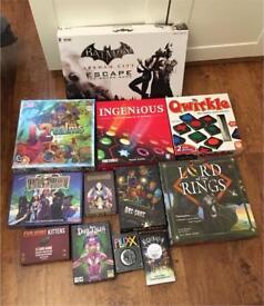 Various modern board games