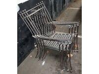 x4 Garden chairs