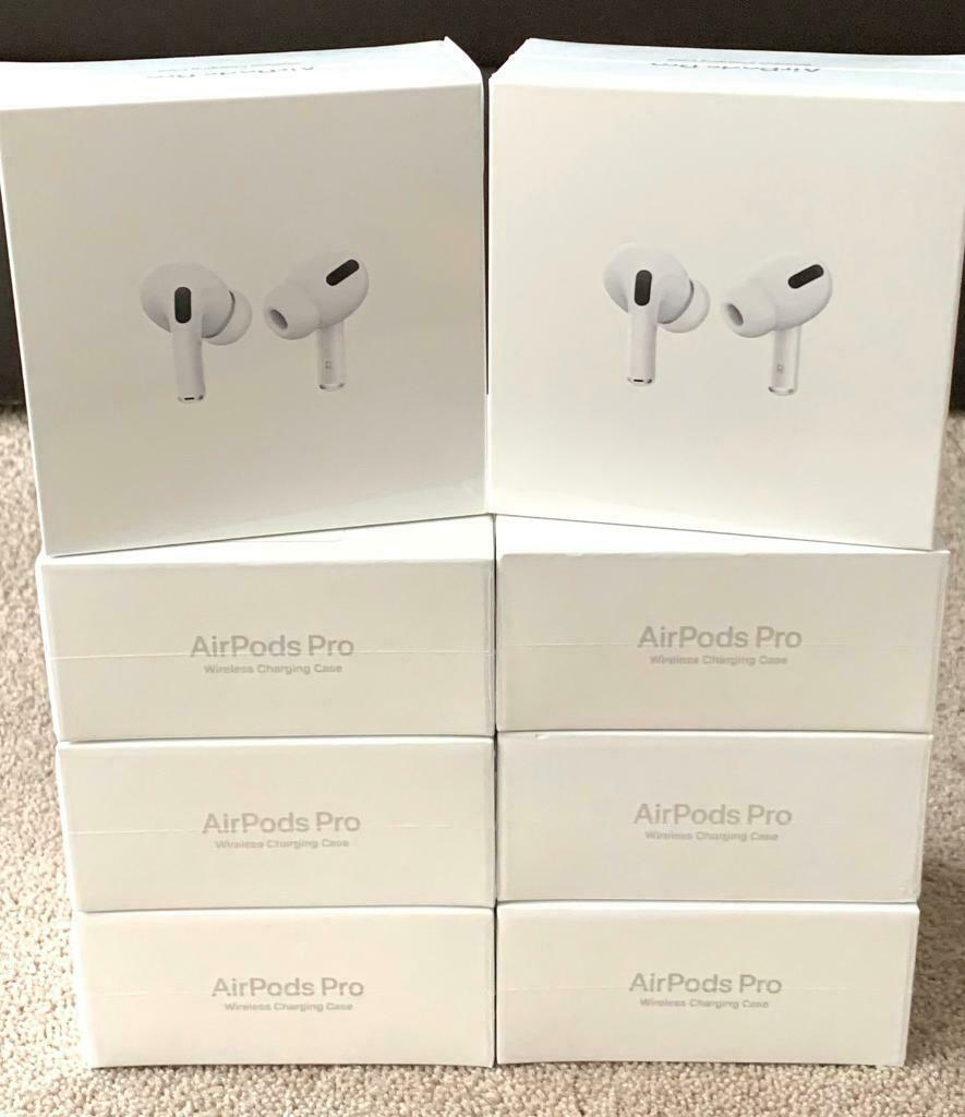 Airpods Pro With Wireless Charging Case Brand New Sealed Box 1 Year Warranty Rrp 249 In Bolton Manchester Gumtree
