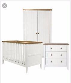 Mothercare Summer Oak Nursery Furniture