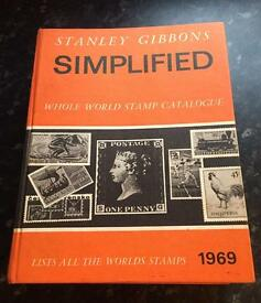 Stanley Gibbins 1969 worldwide stamp catalogue