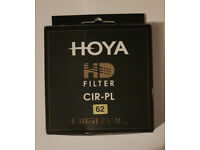 Hoya HD Filter Cir-PL 62mm