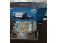 Boxed wii u with 2 games