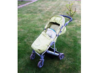 MAMAS & PAPAS LUNA Pushchair / Stroller in Lime Colour