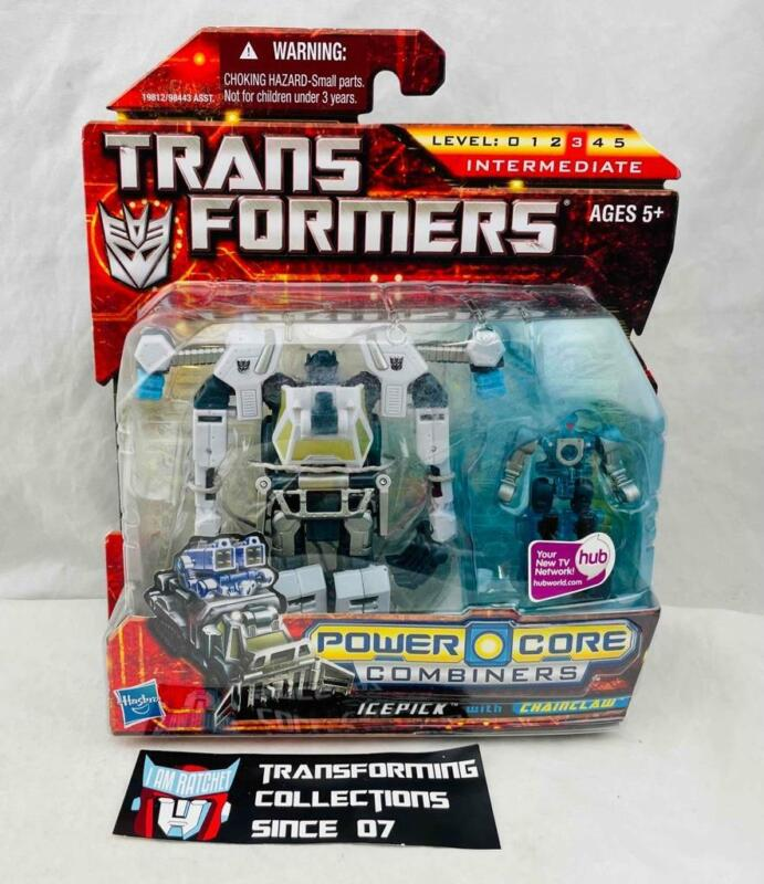 Transformers Generations Power Core Combiners Icepick with Chainclaw MOSC