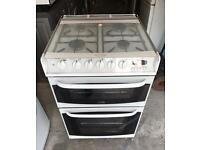 CANNON White Chichester Fully Gas Cooker 60cm wide & Fully Working Order