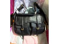 Title: Radley Cornforth - large flap over shoulder bag. Black BRAND NEW with Box/Bag RRP £319