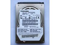 "HDD 2.5"" Toshiba MK2555GSX 250 GB - SATA 3Gb/s"
