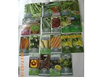 VEGETABLE SEEDS val £39 for £10