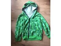 Creeper zip up hoodie age 6-8 years