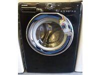 £150 Black 8KG Hoover Washing Machine – 6 Months Warranty