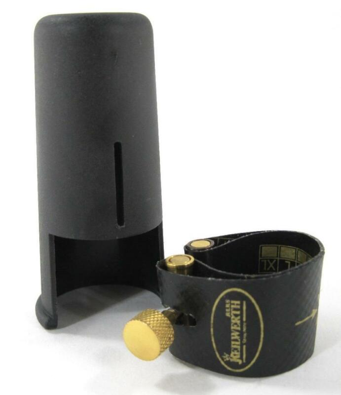 GF System / Keilwerth Ligature & Cap for Hard Rubber Tenor Saxophone Mouthpiece