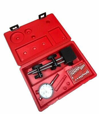 Dial Indicator Magnetic Base Holder 22 Point Precision Inspection Set 0-1 Inch