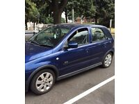 Vauxall Corsa 2006 Blue. Very low milleage