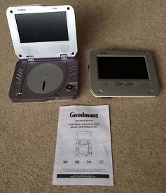 Portable DVD Player (Goodmans) - 2 screens for a car