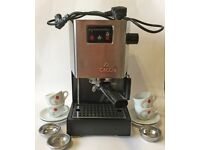 Gaggia Classic Expresso Coffee Maker & Milk Frother