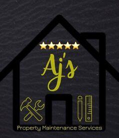 Aj's Property Maintenence + D.I.Y Services