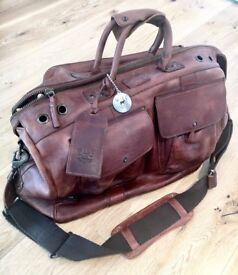 Will Leather Traveler Duffle - as new