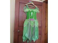 Disney Fairies Tinkerbell Dressing Up Costume