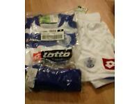 Junior QPR football kit x9. BNWT