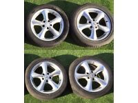 "17"" inch Mercedes wheels & tyres Pcd 5x112"