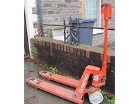 Pallet truck, Rollatruck, BT LIfter