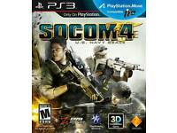 Looking for socom 4 navy seals on PS3
